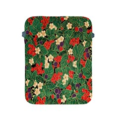 Berries And Leaves Apple Ipad 2/3/4 Protective Soft Cases by Simbadda