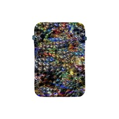 Multi Color Peacock Feathers Apple Ipad Mini Protective Soft Cases by Simbadda