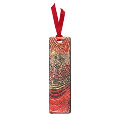 Red Gold Black Background Small Book Marks by Simbadda