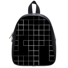 Abstract Clutter School Bags (small)  by Simbadda