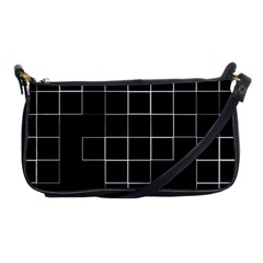 Abstract Clutter Shoulder Clutch Bags by Simbadda