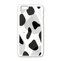 Abstract Venture Apple Iphone 6/6s White Enamel Case by Simbadda