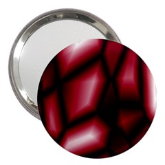 Red Abstract Background 3  Handbag Mirrors