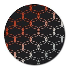 Cadenas Chinas Abstract Design Pattern Round Mousepads
