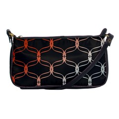 Cadenas Chinas Abstract Design Pattern Shoulder Clutch Bags