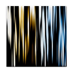 Digitally Created Striped Abstract Background Texture Tile Coasters