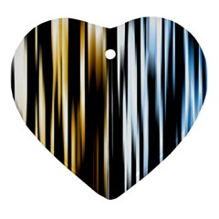 Digitally Created Striped Abstract Background Texture Ornament (Heart)