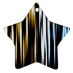 Digitally Created Striped Abstract Background Texture Ornament (Star)
