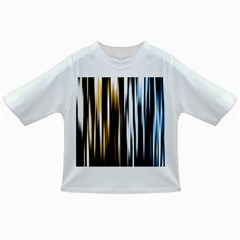 Digitally Created Striped Abstract Background Texture Infant/Toddler T-Shirts