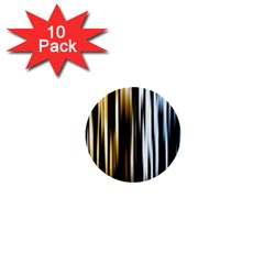 Digitally Created Striped Abstract Background Texture 1  Mini Buttons (10 pack)