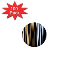 Digitally Created Striped Abstract Background Texture 1  Mini Buttons (100 pack)