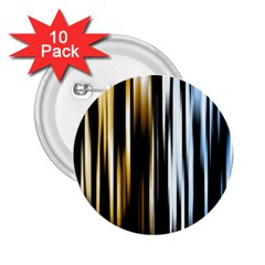 Digitally Created Striped Abstract Background Texture 2.25  Buttons (10 pack)