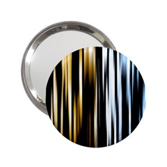 Digitally Created Striped Abstract Background Texture 2.25  Handbag Mirrors