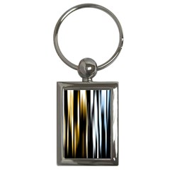 Digitally Created Striped Abstract Background Texture Key Chains (Rectangle)