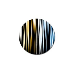 Digitally Created Striped Abstract Background Texture Golf Ball Marker