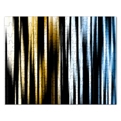 Digitally Created Striped Abstract Background Texture Rectangular Jigsaw Puzzl