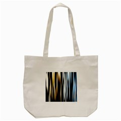 Digitally Created Striped Abstract Background Texture Tote Bag (Cream)