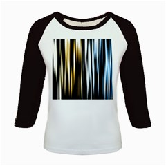Digitally Created Striped Abstract Background Texture Kids Baseball Jerseys