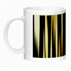 Digitally Created Striped Abstract Background Texture Night Luminous Mugs