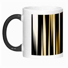 Digitally Created Striped Abstract Background Texture Morph Mugs