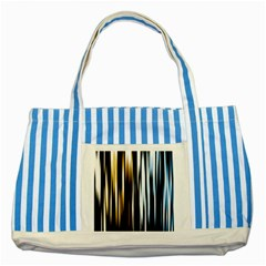 Digitally Created Striped Abstract Background Texture Striped Blue Tote Bag