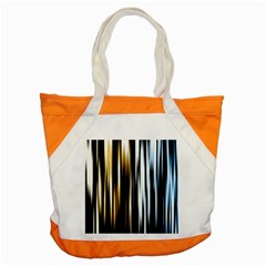 Digitally Created Striped Abstract Background Texture Accent Tote Bag