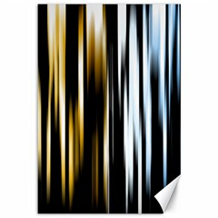 Digitally Created Striped Abstract Background Texture Canvas 12  x 18