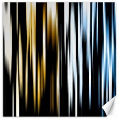 Digitally Created Striped Abstract Background Texture Canvas 16  x 16