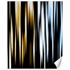 Digitally Created Striped Abstract Background Texture Canvas 16  x 20