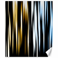 Digitally Created Striped Abstract Background Texture Canvas 20  x 24