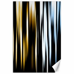Digitally Created Striped Abstract Background Texture Canvas 24  x 36