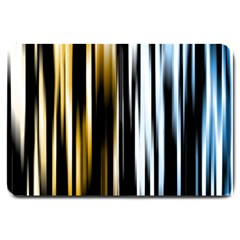 Digitally Created Striped Abstract Background Texture Large Doormat