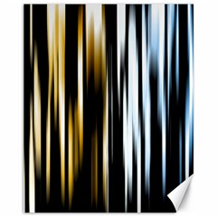 Digitally Created Striped Abstract Background Texture Canvas 11  x 14
