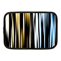 Digitally Created Striped Abstract Background Texture Netbook Case (Medium)