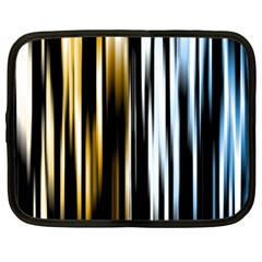 Digitally Created Striped Abstract Background Texture Netbook Case (Large)