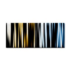 Digitally Created Striped Abstract Background Texture Cosmetic Storage Cases by Simbadda