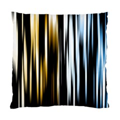 Digitally Created Striped Abstract Background Texture Standard Cushion Case (Two Sides)