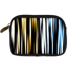 Digitally Created Striped Abstract Background Texture Digital Camera Cases