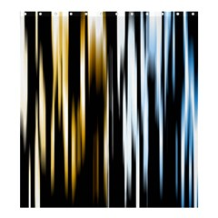 Digitally Created Striped Abstract Background Texture Shower Curtain 66  x 72  (Large)