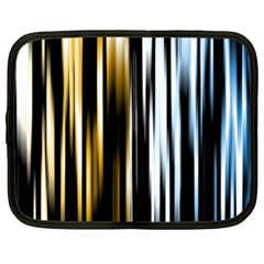 Digitally Created Striped Abstract Background Texture Netbook Case (XL)