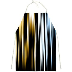 Digitally Created Striped Abstract Background Texture Full Print Aprons