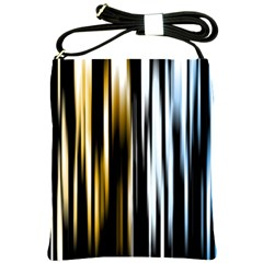 Digitally Created Striped Abstract Background Texture Shoulder Sling Bags