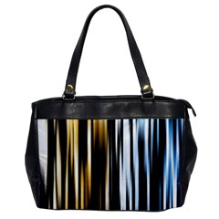 Digitally Created Striped Abstract Background Texture Office Handbags