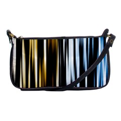Digitally Created Striped Abstract Background Texture Shoulder Clutch Bags