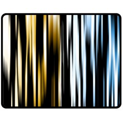 Digitally Created Striped Abstract Background Texture Fleece Blanket (Medium)