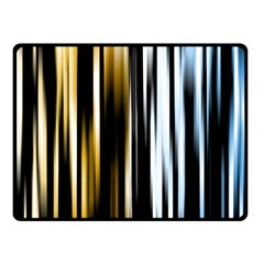 Digitally Created Striped Abstract Background Texture Fleece Blanket (Small)
