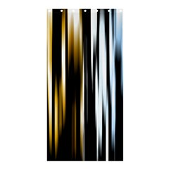 Digitally Created Striped Abstract Background Texture Shower Curtain 36  x 72  (Stall)