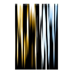 Digitally Created Striped Abstract Background Texture Shower Curtain 48  x 72  (Small)
