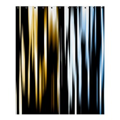 Digitally Created Striped Abstract Background Texture Shower Curtain 60  x 72  (Medium)