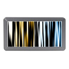 Digitally Created Striped Abstract Background Texture Memory Card Reader (Mini)